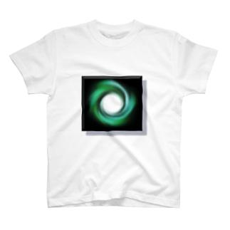 電磁波カット/宇宙効果SpaceArt「時の音色」 Tシャツ