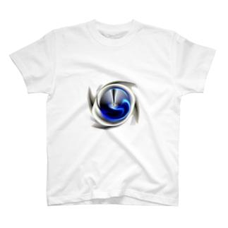電磁波カット/宇宙効果SpaceArt「最果て銀河」 Tシャツ