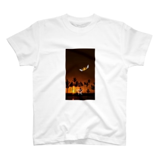 FK(Flying King) SUNSET Tシャツ