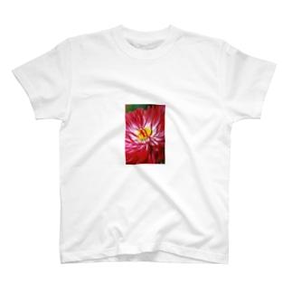花ケース Tシャツ