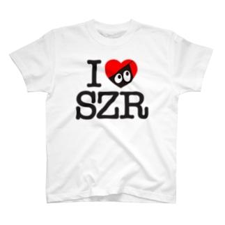 I LOVE SZR. T-shirts
