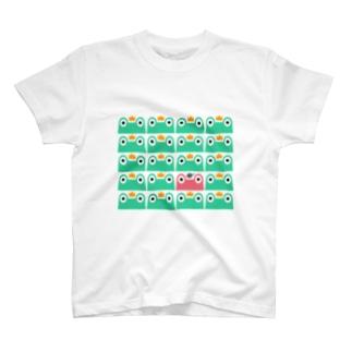 カエル隊 Tシャツ T-shirts