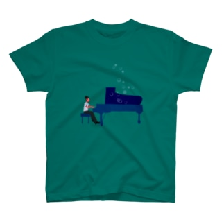 musician george-san Tシャツ