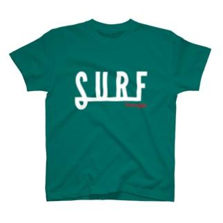 SURF2-White(濃色用) Tシャツ