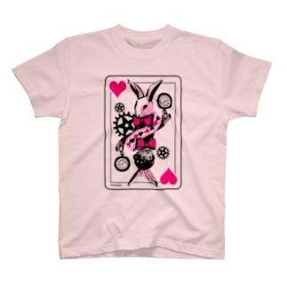 不思議の国のシロウサギ T-shirts