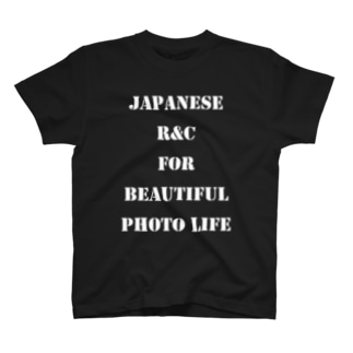Rock and Camera Tシャツ