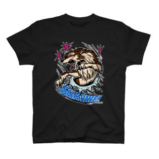 レッドアイ狼SURVIVE! T-shirts