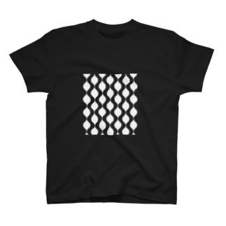 北欧レインドロップ ライトグレー T-shirts