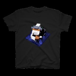 nano kantaの海に潜むブロック獣 T-shirts