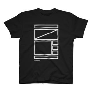 ワイヤーフレームお試し WH T-shirts
