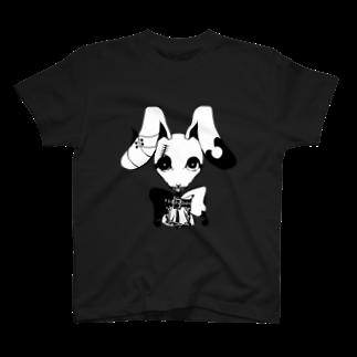 unoのゴスパンうさちゃん T-shirts
