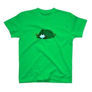 いか(きゃんぷ) T-shirts