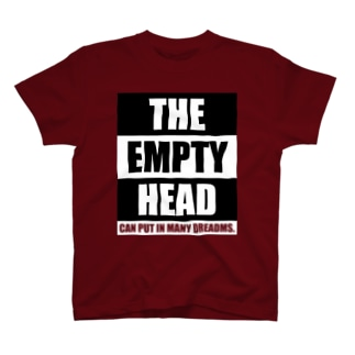 THE EMPTY HEAD T-shirts