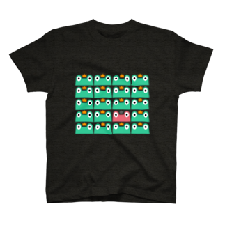 カエル大好き!カエル隊まゆみのカエル隊 Tシャツ T-shirts