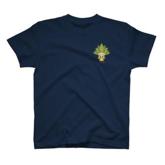 GubbishのMandragora(ワンポイント) T-shirts