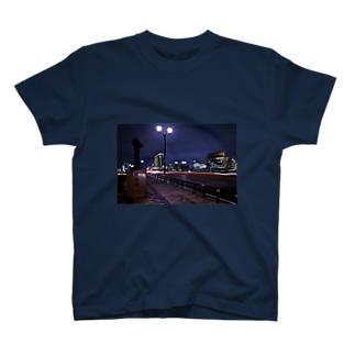 沖縄夜景 T-shirts
