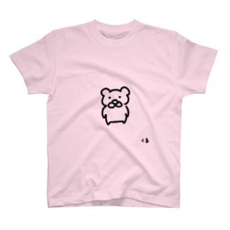 くま1号 T-shirts