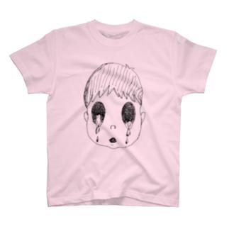Kitasenju Design Shopのかなしいじんせい T-shirts