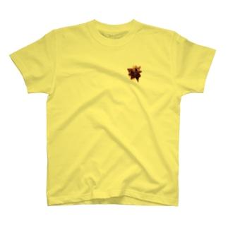 スターボウ5/ブローチ風 T-shirts