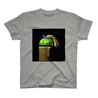 真珠の耳飾りちゃん T-shirts