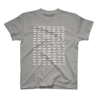 Comic Line - 1 (White) T-shirts