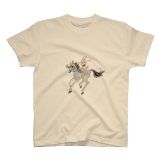 うさぎのマミィ ナポレオン Tシャツ