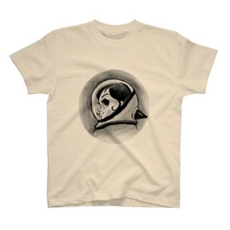 ヤノベケンジ《サン・チャイルド》(横顔) Tシャツ