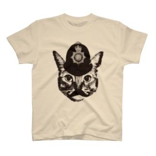 Nobigao ボビーキャットポリス Tシャツ