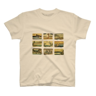 広重-4 Tシャツ