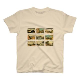 北斎-4 Tシャツ
