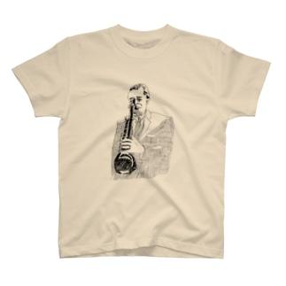 古屋智子(TomokoFuruya)のJazz サックス T-shirts