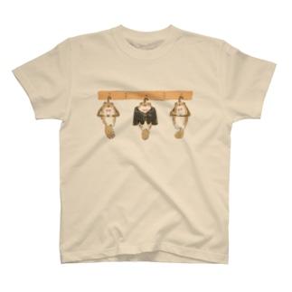 かわうそハンガー T-shirts