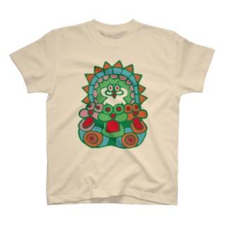 脱出用おにゃんPOD T-shirts