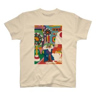 おにゃん散歩 T-shirts
