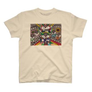 おにゃ八ファンク T-shirts