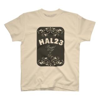 HAL23.COM 2014年5月LOGO T-shirts