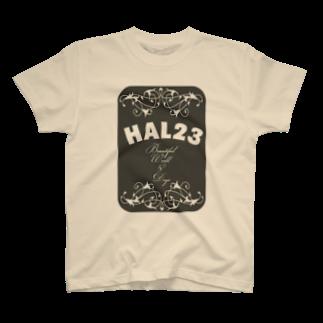 HAL23のHAL23.COM 2014年5月LOGO T-shirts