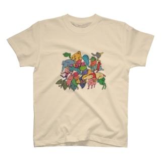 みんな〜〜 Tシャツ