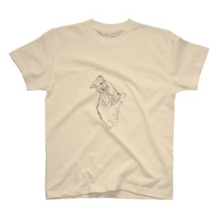 あらいくんのにわとり T-shirts