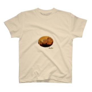 丸型Glorious Castle T-shirts