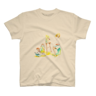 Let's art ! その1 T-shirts