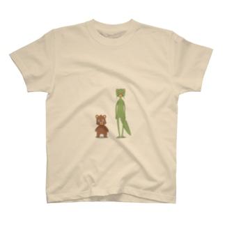 イタチとクマ T-shirts