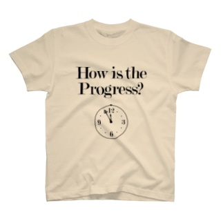 How is the Progress?(明るい色のみ) T-shirts