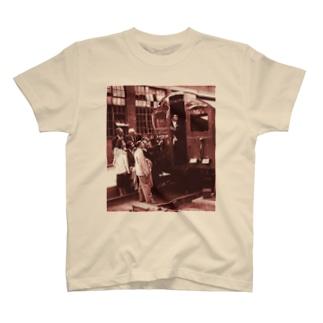 STOCKHOLM VISITS THE LONDON TRAINS T-shirts