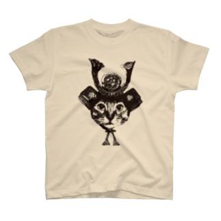 Nobigao猫将軍 T-shirts