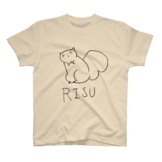 リス伊豆クール T-shirts