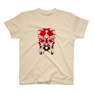 変な模様 T-shirts