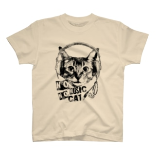 Nobigao Music Cat T-shirts