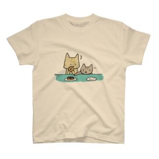 おちびとチャトニャン(ドーナツ) T-shirts