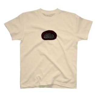 そこには何かいるモン!? in おはぎ T-shirts